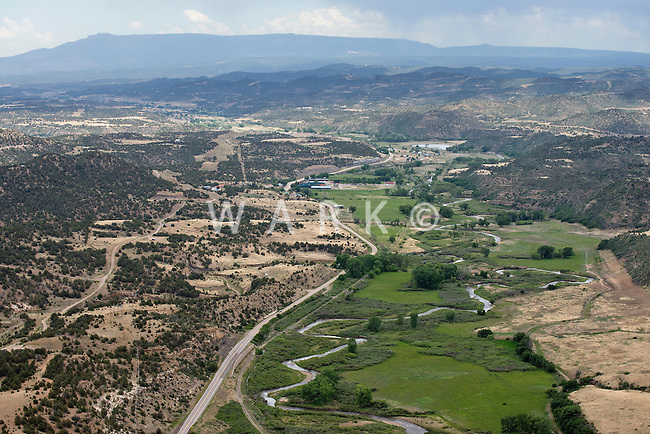Highway 12, west of Trinidad, Colorado. June 2014