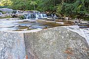 Jackson Falls along Wildcat Brook in Jackson, New Hampshire USA.