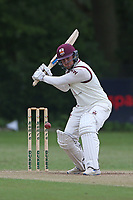 A West in batting action for Brentwood during Wanstead and Snaresbrook CC (fielding) vs Brentwood CC, Hamro Foundation Essex League Cricket at Overton Drive on 19th June 2021
