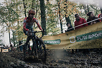 Christine Majerus (LUX/Boels-Dolmans)<br /> <br /> Women's race<br /> Superprestige Gavere / Belgium 2017