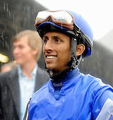 Rajiv Maragh and Seventh Street win the Go For Wand during a torrential rain storm.