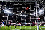 Goalkeeper Jan Oblak of Atletico de Madrid saves the ball during the La Liga 2017-18 match between Atletico de Madrid and CD Leganes at Wanda Metropolitano on February 28 2018 in Madrid, Spain. Photo by Diego Souto / Power Sport Images