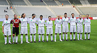 15 Mei 2010 Bekerfinale vrouwen : Sinaai Girls - RSC Anderlecht  : Anderlecht.foto DAVID CATRY / Vrouwenteam.be
