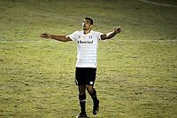 CAXIAS, RS, 02.05.2021 - CAXIAS - GREMIO - O atacante Diego Souza, da equipe do Grêmio, comemora o seu gol, na partida Caxias e Grêmio, válida pela semi final do Campeonato Gaúcho 2021, no estádio Centenário, em Caxias do Sul, neste domingo (2).