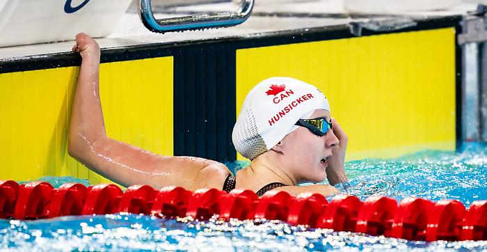 Arianna Hunsicker, Lima 2019 - Para Swimming // Paranatation.<br /> Arianna Hunsicker competes in the women's 50m freestyle S10 // Arianna Hunsicker participe en 50 m libre féminin S10. 28/08/19.