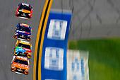 2017 NASCAR Monster Energy Cup Series - Daytona 500<br /> Daytona International Speedway, Daytona Beach, FL USA<br /> Sunday 26 February 2017<br /> Daniel Suarez, ARRIS Toyota Camry and Kyle Busch, M&M's Toyota Camry<br /> World Copyright: Nigel Kinrade/LAT Images<br /> <br /> ref: Digital Image 17DAY2nk14630