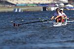 Rowing, Canada Lightweight men's pair, Matt Jensen,bow, Rares Crisan, stroke, LM2-, 2010 FISA World Rowing Championships, Lake Karapiro, Hamilton, New Zealand,
