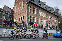 breakaway group in Overijse<br /> <br /> 61st Brabantse Pijl 2021 (1.Pro)<br /> 1 day race from Leuven to Overijse (BEL/202km)<br /> <br /> ©kramon