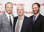 Stephen Bogardus, Michael Rupert and Jonathan Kaplan attends the Opening Night After Party for 'Falsettos'  at the New York Hilton Hotel on October 27, 2016 in New York City.