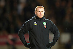 St Johnstone v Celtic..27.10.10  .Neil Lennon looks pissed off.Picture by Graeme Hart..Copyright Perthshire Picture Agency.Tel: 01738 623350  Mobile: 07990 594431