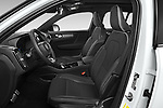 Front seat view of 2021 Volvo XC40 R-Design 5 Door SUV Front Seat  car photos