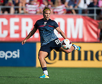 Amber Brooks.  The USWNT defeated Brazil, 4-1, at an international friendly at the Florida Citrus Bowl in Orlando, FL.