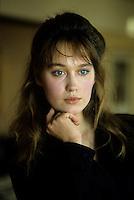 Marianne Basler en 1988<br /> <br /> PHOTO : Pierre Roussel -  Agence Quebec Presse