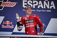 Jack Miller winner Ducati celebrates <br /> Jerez 03/05/2021 Spain MotoGP<br /> Photo Mediahouse.ducati.com / Insidefoto <br /> EDITORIAL USE ONLY