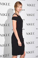 Karli Kloss<br /> at the Vogue 100: A Century of Style exhibition opening held in the National Portrait Gallery, London.<br /> <br /> <br /> ©Ash Knotek  D3080 09/02/2016