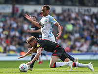 Bolton Wanderers' Craig Noone is brought down by  Blackburn Rovers' Elliott Bennett <br /> <br /> Photographer Andrew Kearns/CameraSport<br /> <br /> The EFL Sky Bet Championship - Blackburn Rovers v Bolton Wanderers - Monday 22nd April 2019 - Ewood Park - Blackburn<br /> <br /> World Copyright © 2019 CameraSport. All rights reserved. 43 Linden Ave. Countesthorpe. Leicester. England. LE8 5PG - Tel: +44 (0) 116 277 4147 - admin@camerasport.com - www.camerasport.com