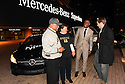New Orleans Saints Wide Receiver Brandin Cooks chats with three local heroes after rewarding them  with new Mercedes-Benz vehicles for the brand's 10 Years Stronger initiative on November 23, 2015.