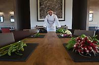 Europe/France/Bretagne/56/Morbihan/La Gacilly: Gilles Le Gallès Chef du Restaurant: La Grée des Landes, Eco-Hôtel Spa Yves Rocher [Non destiné à un usage publicitaire - Not intended for an advertising use]
