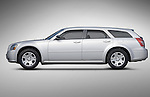 Profile side view of a 2006 Dodge Magnum