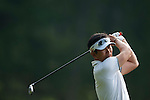 Yong-eun Yang of South Korea hits the ball during Hong Kong Open golf tournament at the Fanling golf course on 24 October 2015 in Hong Kong, China. Photo by Xaume Olleros / Power Sport Images