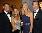 From left: David and Heather Mitchell with Rachel and Mark Lawrence at the Museum of Fine Arts gala Friday Oct. 09,2009. (Dave Rossman/For the Chronicle)