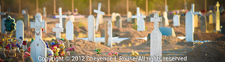 """Many Crosses"" - Salt River Indian Reservation Cemetery - Arizona"