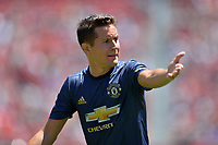 Santa Clara, CA - Sunday July 22, 2018: Ander Herrera during a friendly match between the San Jose Earthquakes and Manchester United FC at Levi's Stadium.