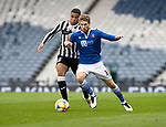 St Mirren v St Johnstone…09.05.21  Scottish Cup Semi-Final Hampden Park <br />David Wotherspoon battles with Ethan Erhahon<br />Picture by Graeme Hart.<br />Copyright Perthshire Picture Agency<br />Tel: 01738 623350  Mobile: 07990 594431