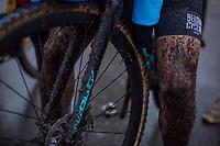 Laura Verdonschot (BEL/Marlux-Bingoal) post race. <br /> <br /> Women's Elite race<br /> <br /> UCI 2019 Cyclocross World Championships<br /> Bogense / Denmark<br /> <br /> ©kramon