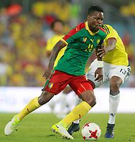 Colombia's Yerri Mina (r) and Cameroon's Georges Mandjeck during international friendly match. June 13,2017.(ALTERPHOTOS/Acero) (NortePhoto.com) (NortePhoto.com)