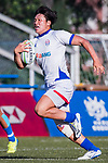 Joonbeom Park of Korea runs in a try during the Asia Rugby U20 Sevens 2017 at King's Park Sports Ground on August 5, 2017 in Hong Kong, China. Photo by Yu Chun Christopher Wong / Power Sport Images