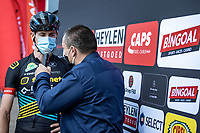 Toon Aerts (BEL/Telenet Lions) pre race interview<br /> <br /> Heistse Pijl 2020<br /> One Day Race: Heist-op-den-Berg > Heist-op-den-Berg 190km  (UCI 1.1)<br /> ©kramon