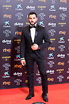 Antonio Velasco attends the red carpet previous to Goya Awards 2021 Gala in Malaga . March 06, 2021. (Alterphotos/Francis González)