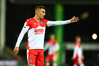 3rd November 2020; Carrow Road, Norwich, Norfolk, England, English Football League Championship Football, Norwich versus Millwall; Jed Wallace of Millwall