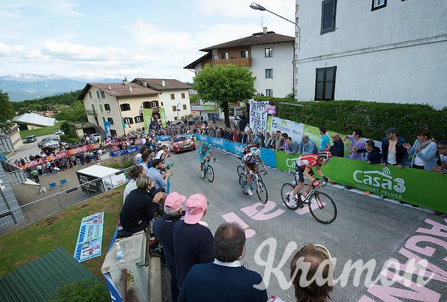 Maxime Monfort (BEL/Lotto-Soudal) up the very steep Fai Della Paganella climb (15%)<br /> <br /> stage 16: Bressanone/Brixen - Andalo 132km<br /> 99th Giro d'Italia 2016