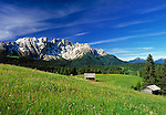 Italy, South Tyrol, Alto Adige, Dolomites, Latemar Mountain Range (2.846 m)