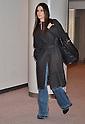 Actress Sandra Bullock arrives in Japan