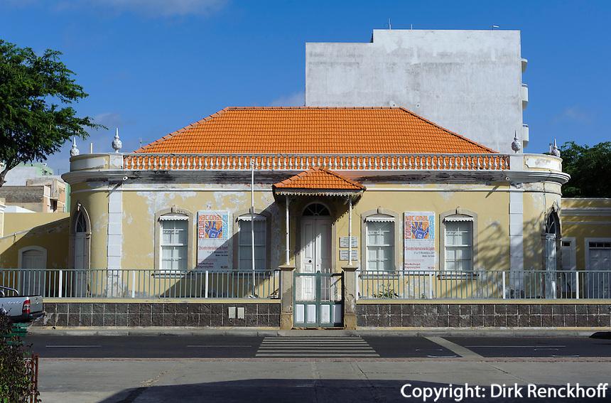 Museum in Mindelo, Sao Vicente, Kapverden, Afrika
