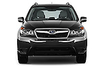 Car photography straight front view of a 2015 Subaru Forester 2.5I Pzev 5 Door SUV