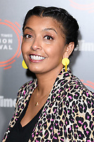 """Sunetra Sarker<br /> at the """"Ackley Bridge"""" photocall as part of the BFI & Radio Times Television Festival 2019 at BFI Southbank, London<br /> <br /> ©Ash Knotek  D3494  12/04/2019"""
