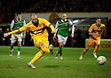 MOTHERWELL'S MICHAEL HIGDON SCORES MOTHERWELL'S FOURTH GOAL