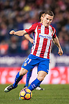 Kevin Gameiro of Atletico de Madrid in action during the La Liga match between Atletico de Madrid and RCD Espanyol at the Vicente Calderón Stadium on 03 November 2016 in Madrid, Spain. Photo by Diego Gonzalez Souto / Power Sport Images