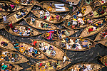 """GUSH HOUR..... A busy waterway is filled with boats and their passengers in the morning commute as they try to pass on a river in Bangladesh. <br /> <br /> Azim Khan Ronnie pictured the boats on the Buriganga River in Bangladesh as millions of commuters attempt to cross the river daily to get to their workplace in the city of Dhaka.  The Bangladeshi capital is one of the most densely populated in the world and home to around 19 million people.<br /> <br /> Azim said """"The waterway is quite busy in the morning as people try to get to the office and to work on time.  Some wear masks, but people don't see Covid-19 as an issue here anymore but Covid cases are increasing day by day quite rapidly.""""<br /> <br /> """"Boats are the only way to cross this waterway so people pass rivers with these boats even with the risk of catching Covid.   Our country has not been shutdown like in the UK but has many restrictions in place to reduce the spread of Covid-19 but sadly people here can't maintain it."""" <br /> <br /> Please byline: Azim Khan Ronnie/Solent News<br /> <br /> © Azim Khan Ronnie/Solent News & Photo Agency<br /> UK +44 (0) 2380 458800"""