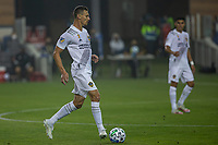 SAN JOSE, CA - SEPTEMBER 13: Daniel Steres #5 of the L.A. Galaxy dribbles the ball during a game between Los Angeles Galaxy and San Jose Earthquakes at Earthquakes Stadium on September 13, 2020 in San Jose, California.