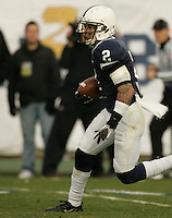 State College, PA - 11/06/2010:  Chaz Powell returns a kickoff for Penn State.  Despite trailing 21-0 in the first quarter, Penn State defeated Northwestern by a score of 35-21 at Beaver Stadium to give head coach Joe Paterno his 400th career victory...Photo:  Joe Rokita / JoeRokita.com..Photo ©2010 Joe Rokita Photography