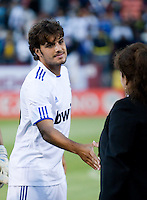 Pedro Leon. Real Madrid defeated Club America 3-2 at Candlestick Park in San Francisco, California on August 4th, 2010.