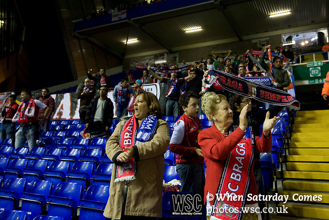 Birmingham City 1 Sporting Braga 3, 15/09/2011. St Andrew's, Birmingham. Europa League. Photo by Colin McPherson.