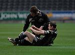 Shane Williams receiving treatment. Swansea Neath Ospreys Vs Newport Gwent Dragons, Magners league, Liberty Stadium © IJC Photography. Photographer Ian Cook