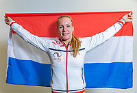 The Hague, The Netherlands, Februari 6, 2020,    Sportcampus, FedCup  Netherlands -  Balarus, Kiki Bertens (NED)<br /> Photo: Tennisimages/Henk Koster