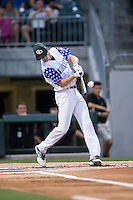Trent Alley of Charlotte Country Day School competes in the 29th Annual Triple-A Home Run Derby at BB&T BallPark on July 11, 2016 in Charlotte, North Carolina.   (Brian Westerholt/Four Seam Images)